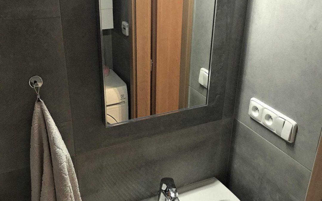 Bytové jádro – rekonstrukce koupelny v Jičíně – nadčasový design