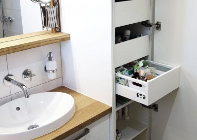 rekonstrukce koupelny dřevo