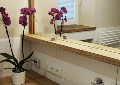 rekonstrukce koupelen zrcadlo