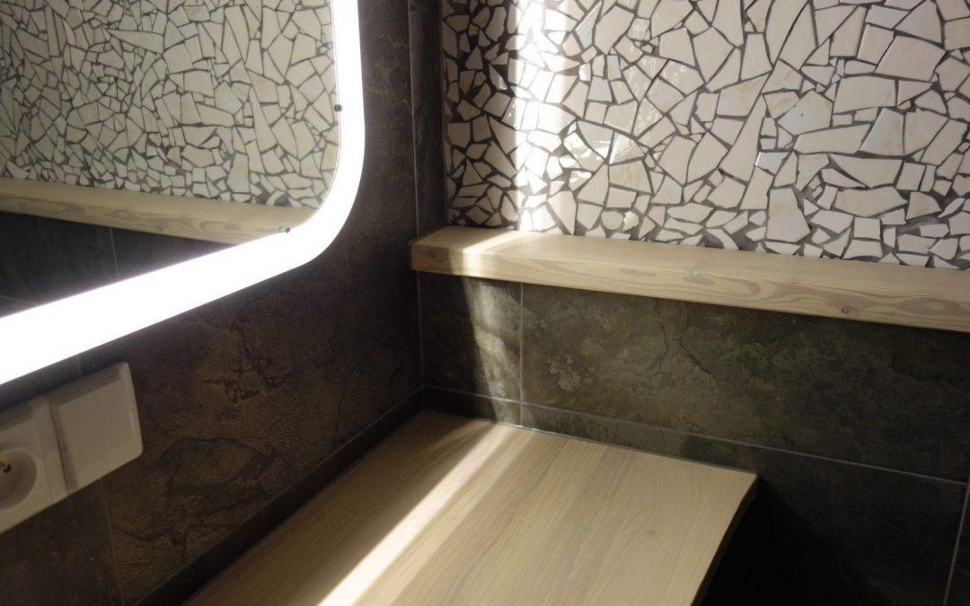 mozaika v koupelně, Libštát