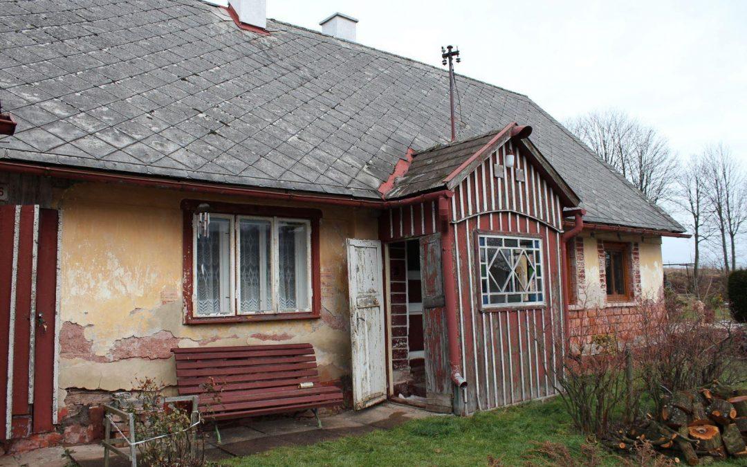 Přestavba domu v Čisté u Horek (část 1.)