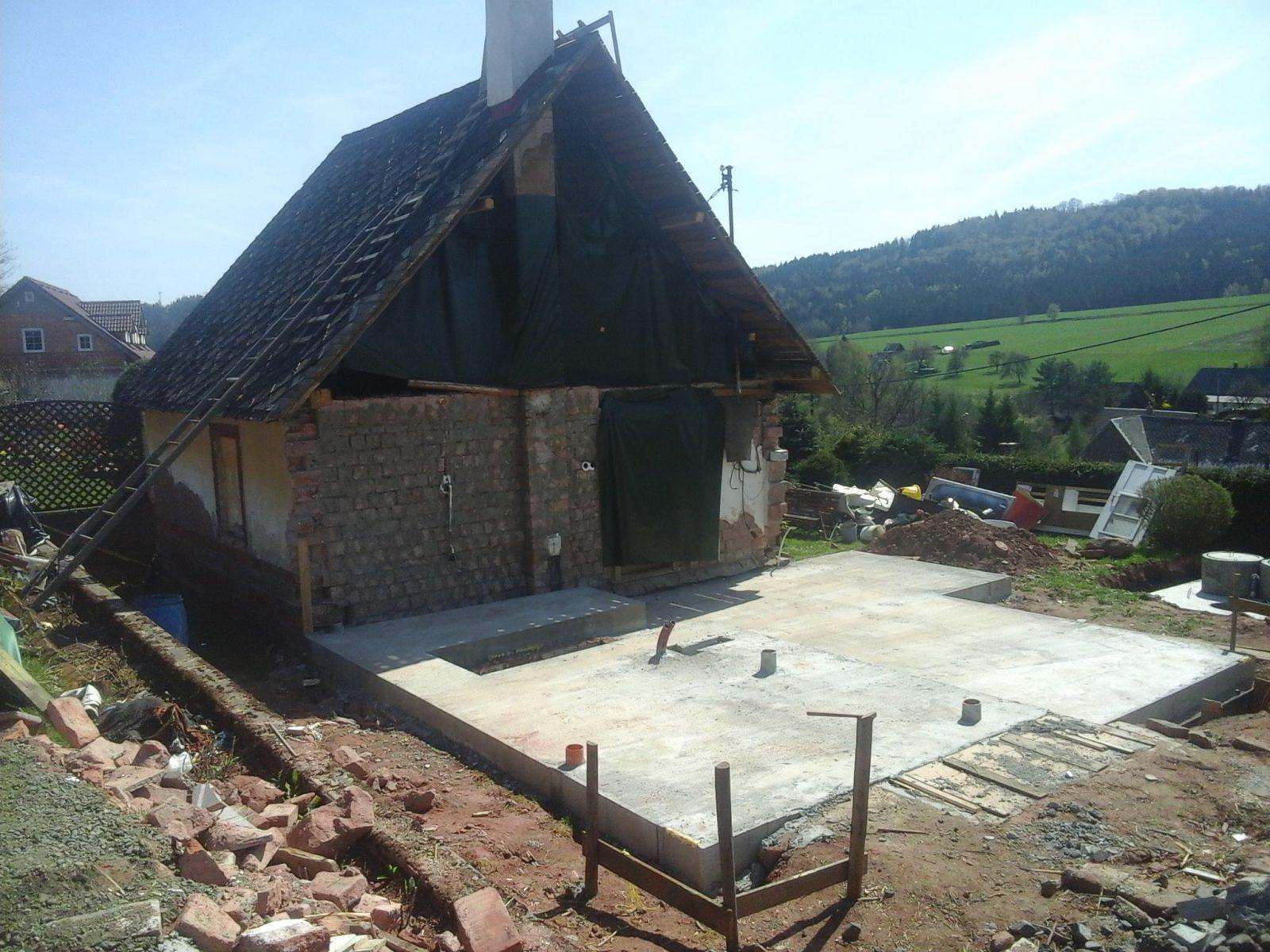 Přestavba a rekonstrukce domu