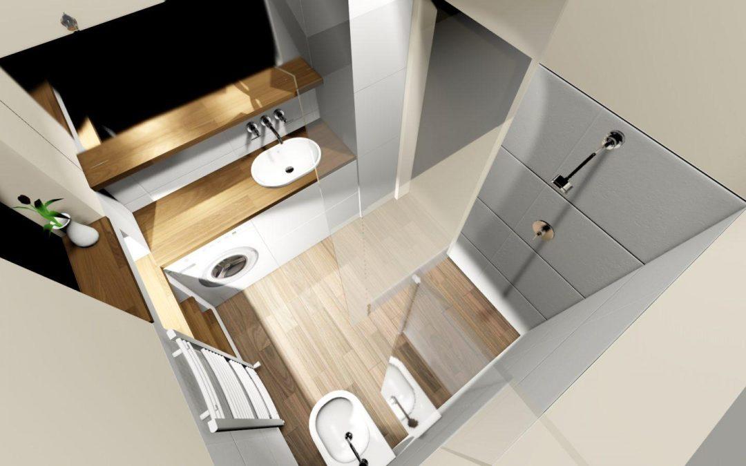 3D grafický návrh koupelny v Jilemnici