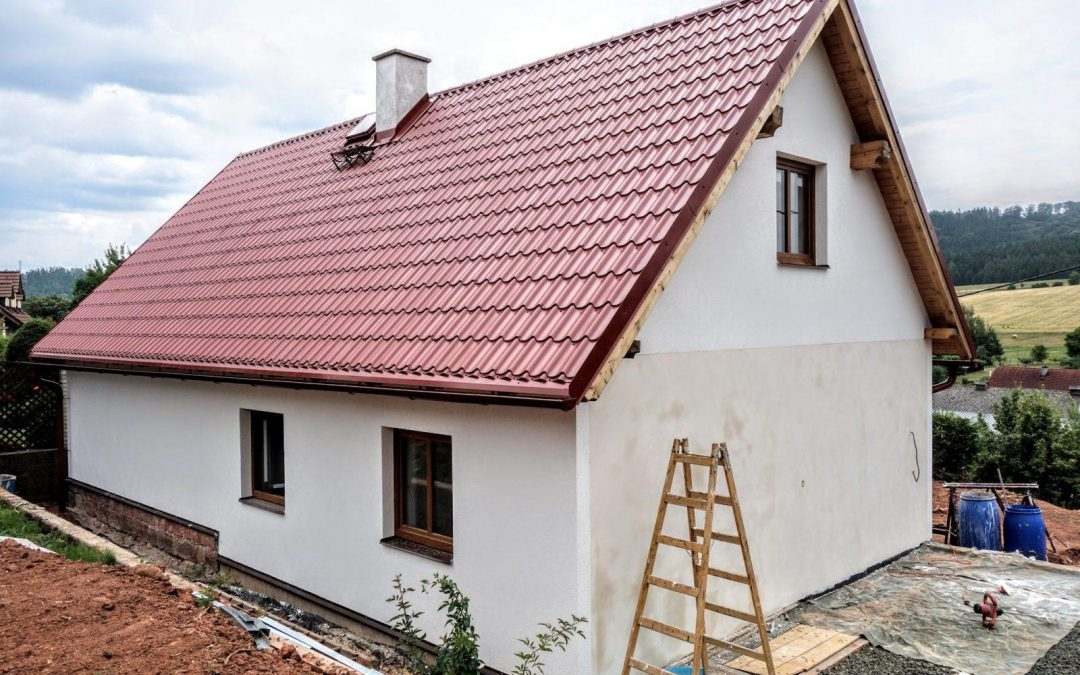 Přestavba domu v Čisté u Horek (část 2.)