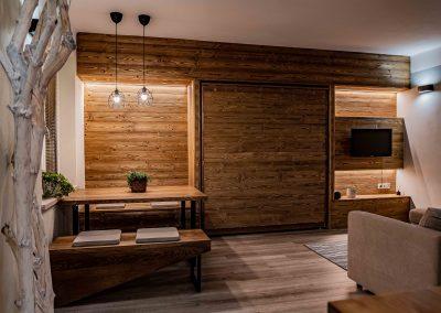 obložení prknama v interiéru