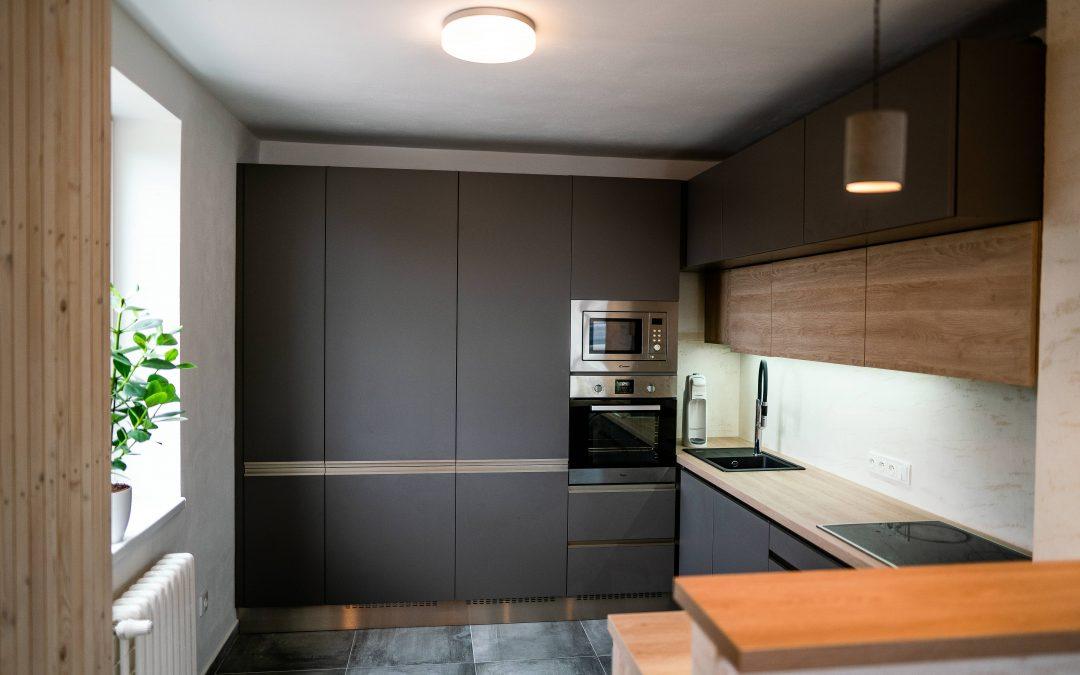Zrekonstruovaný byt v Jablonci nad Nisou